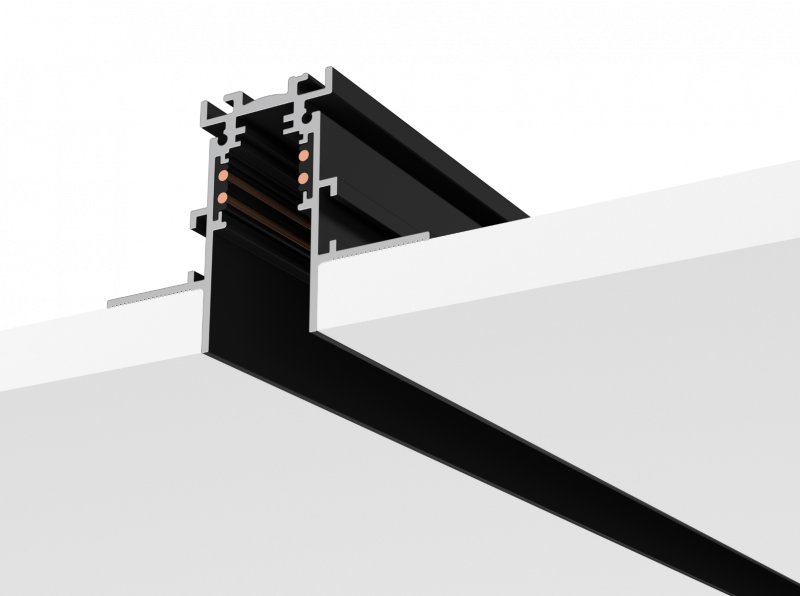 Zaniboni Lighting Mini Track Trimless H Led Lighting